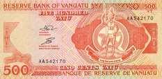 Вануату: 500 вату (1993 г.)