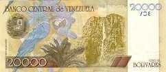 Венесуэла: 20000 боливаров 2001-06 г.