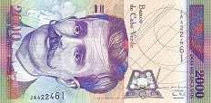 Кабо-Верде: 2000 эскудо 1999 г.