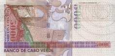 Кабо-Верде: 5000 эскудо 2000 г.