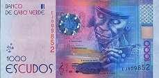 Кабо-Верде: 1000 эскудо 2014 г.