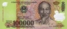 Вьетнам: 100000 донгов (2004-18 г.)