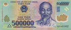 Вьетнам: 500000 донгов (2003-18 г.)