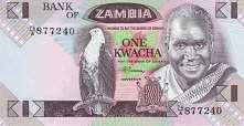 Замбия: 1 квача (1980-88 г.)